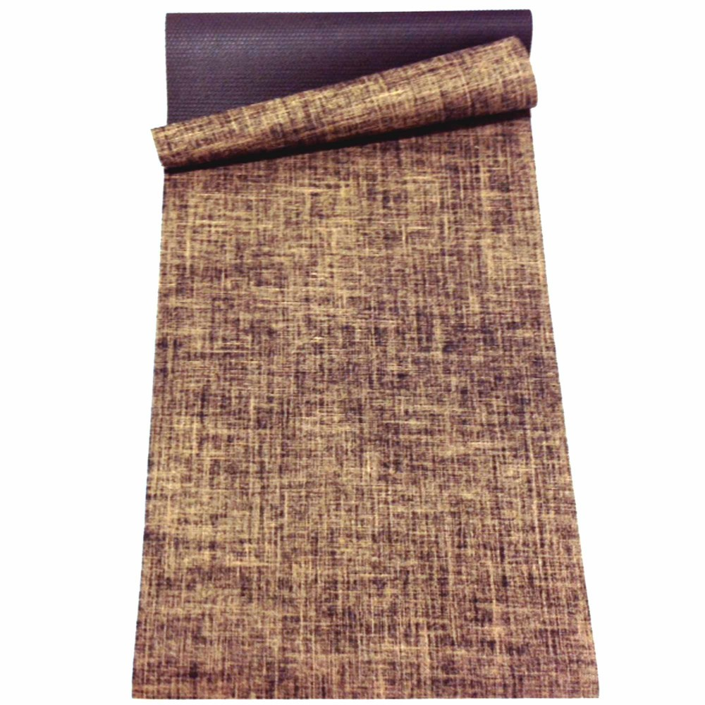 NATURAL JUTE & RUBBER YOGA MAT 5mm