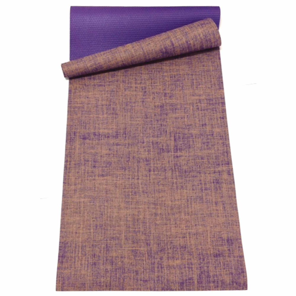 Natural Jute Amp Rubber Yoga Mat 5mm Mahalo 4 Life