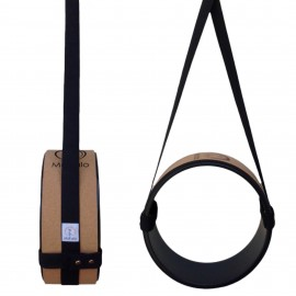 COTTON YOGA WHEEL CARRY STRAP