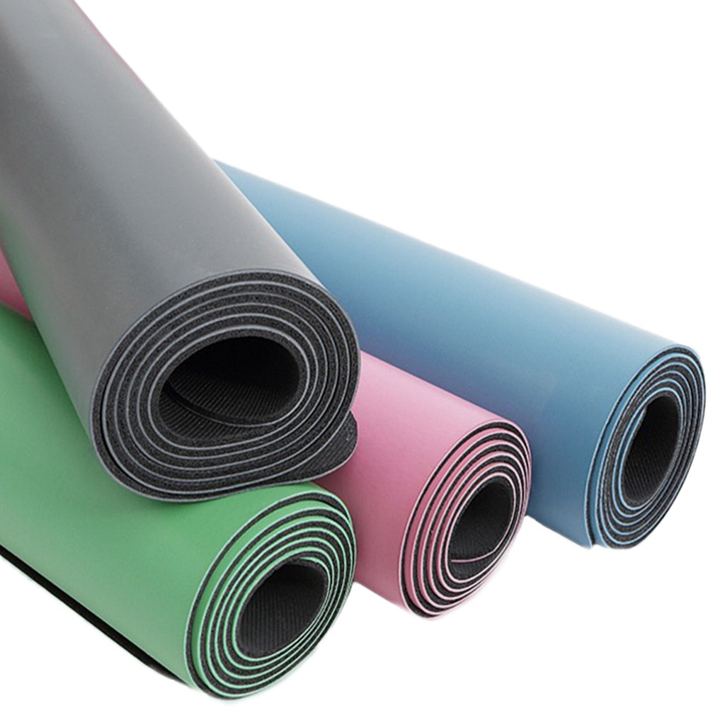 PU NATURAL RUBBER YOGA MAT