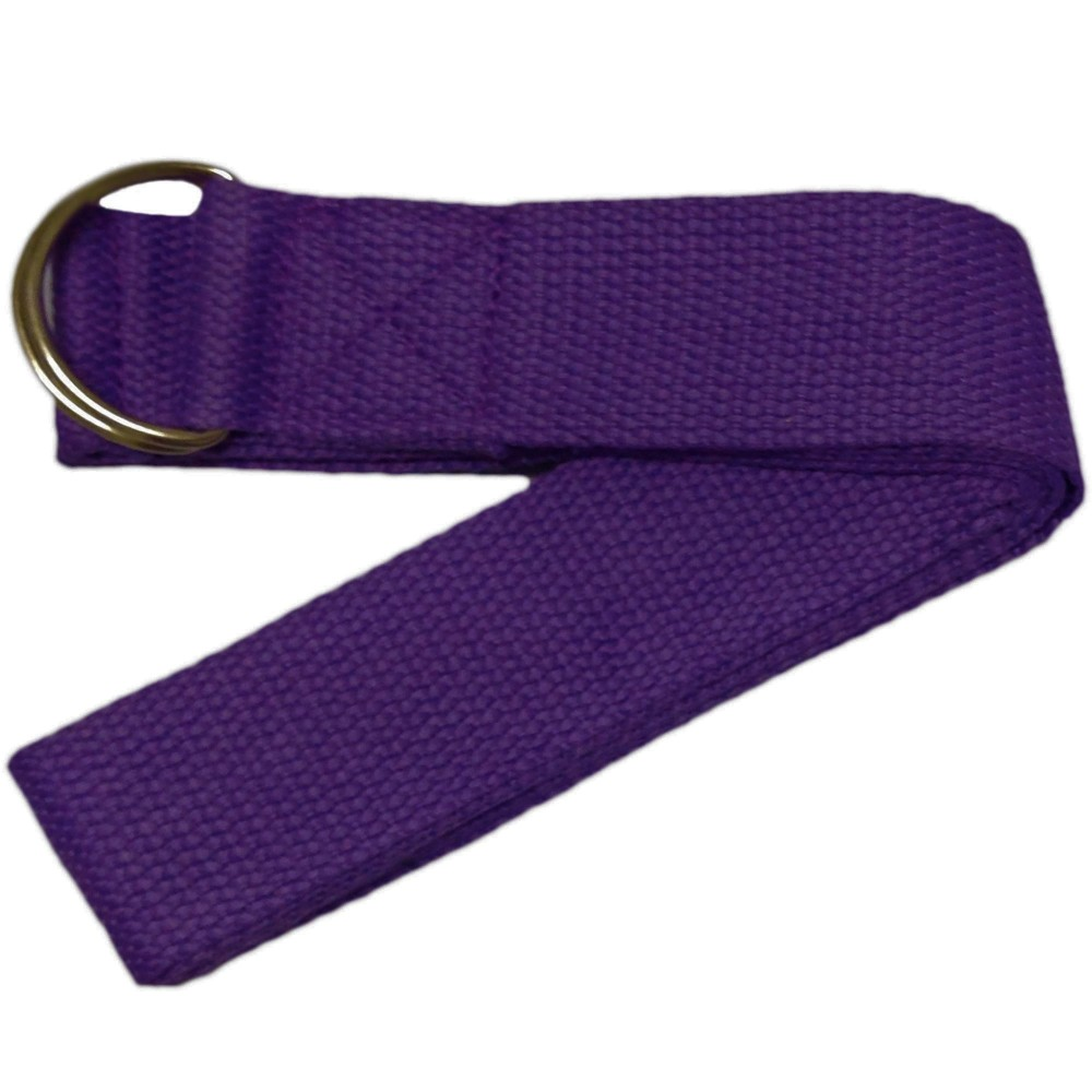 Yoga Stretch Strap D Ring