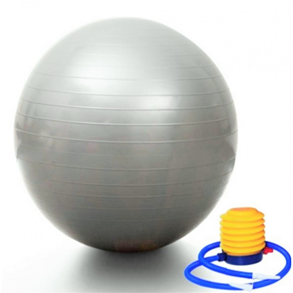 ANTI-BURST GYM BALL & PUMP