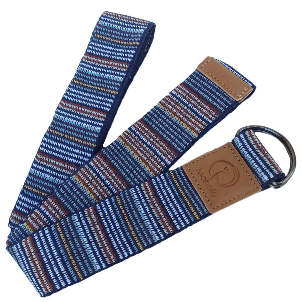 Yoga Stretch Strap Blue