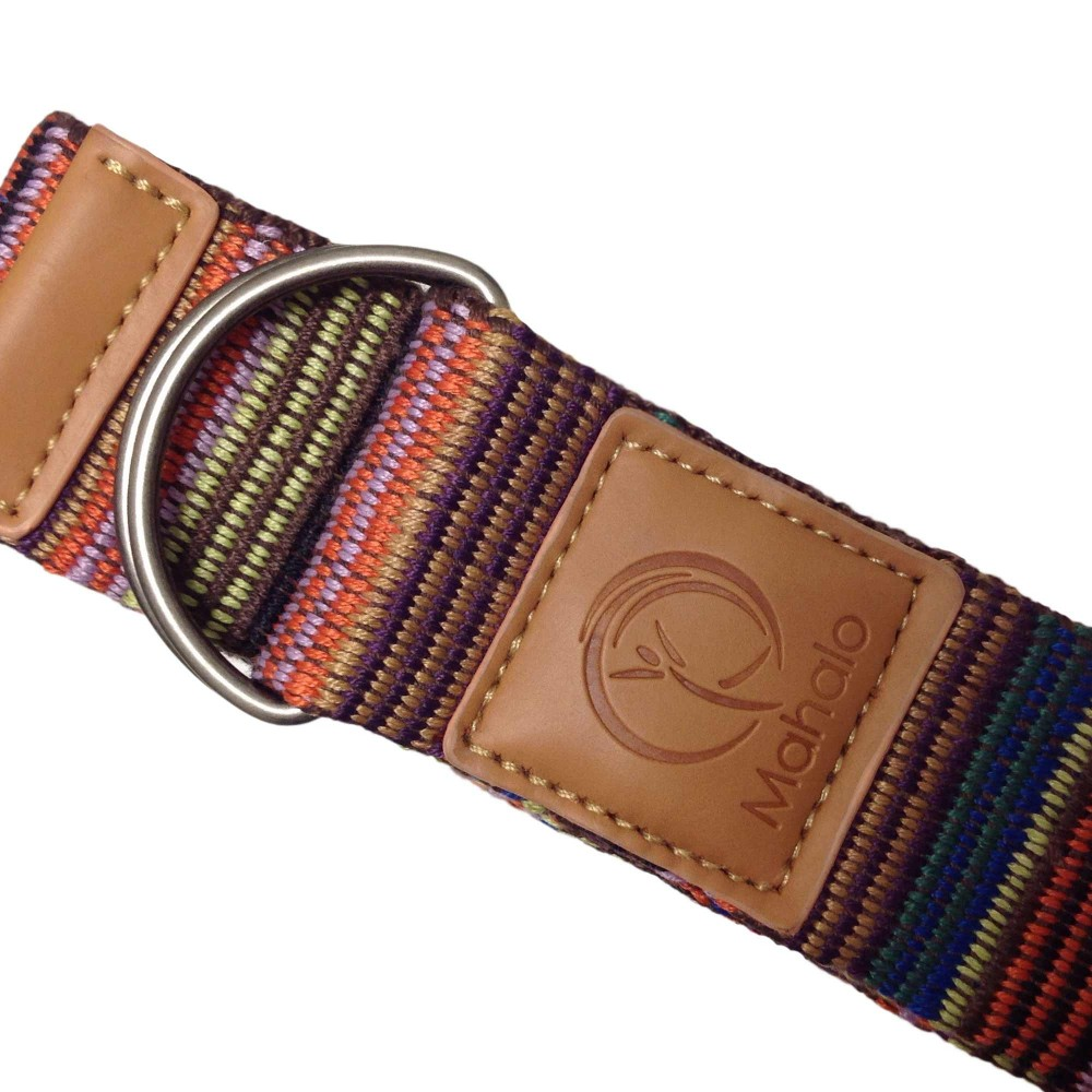 Yoga Stretch Strap Brown