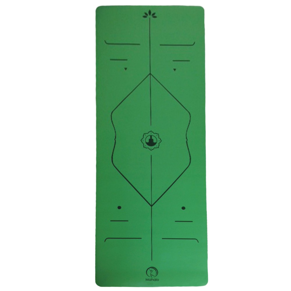ECO NATURAL RUBBER YOGA ALIGNMENT MAT