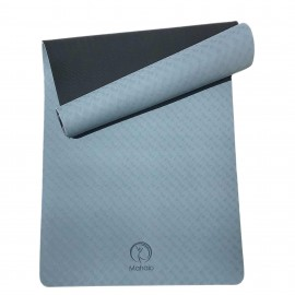 EXTRA WIDE -TPE ECO FRIENDLY YOGA MAT 6mm
