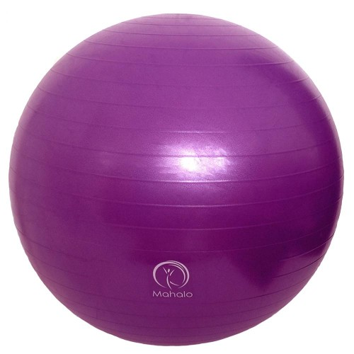 ANTI-BURST GYM BALL & PUMP 65cm